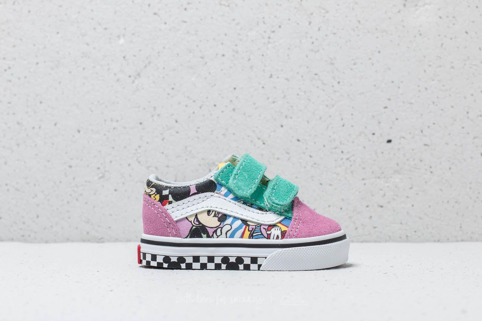 Vans x Disney T Old Skool V 80`s Mickey True White | Footshop