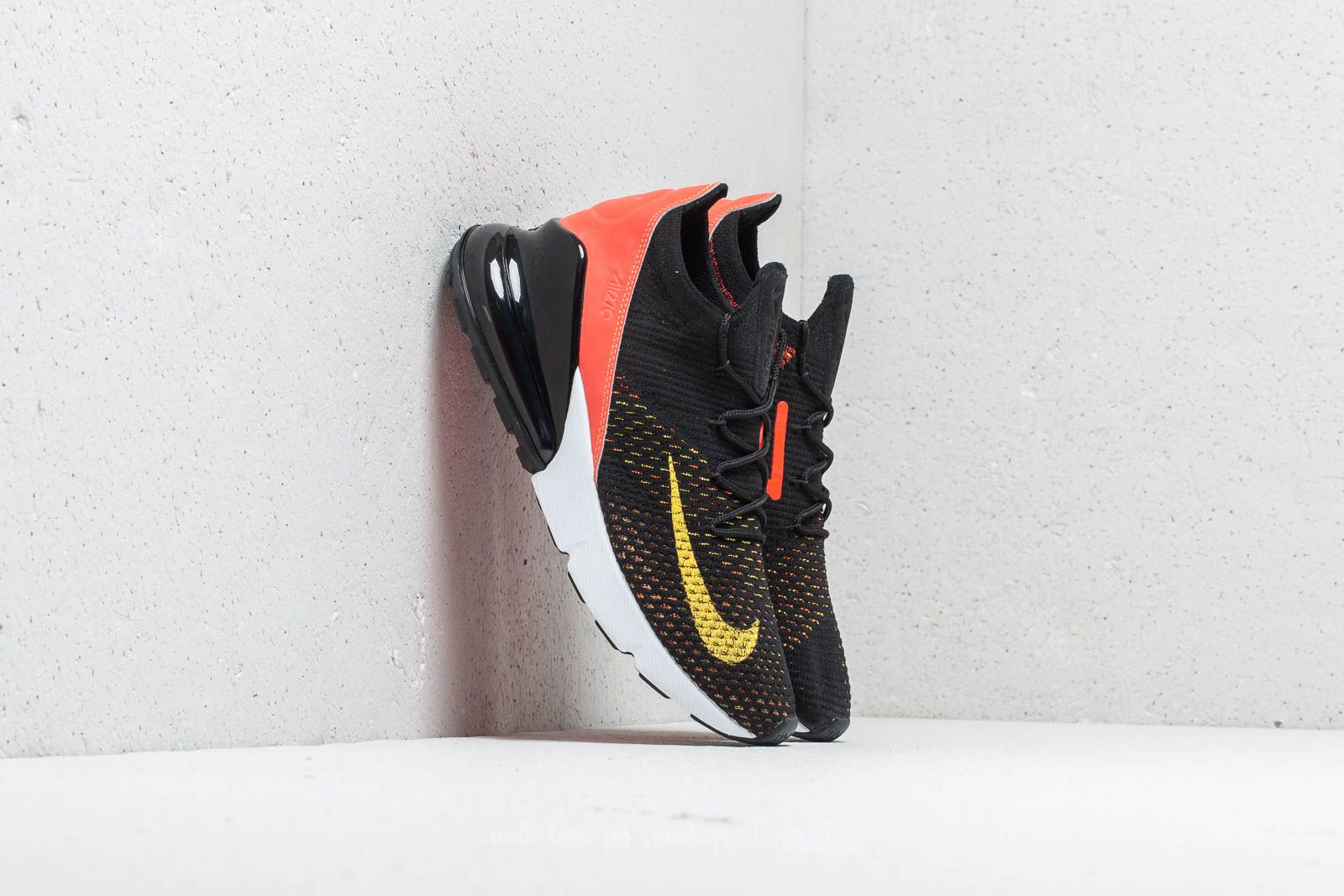 Nike W Air Max 270 Flyknit Black  Yellow Strike at a great price 122 € 2eed0f32d