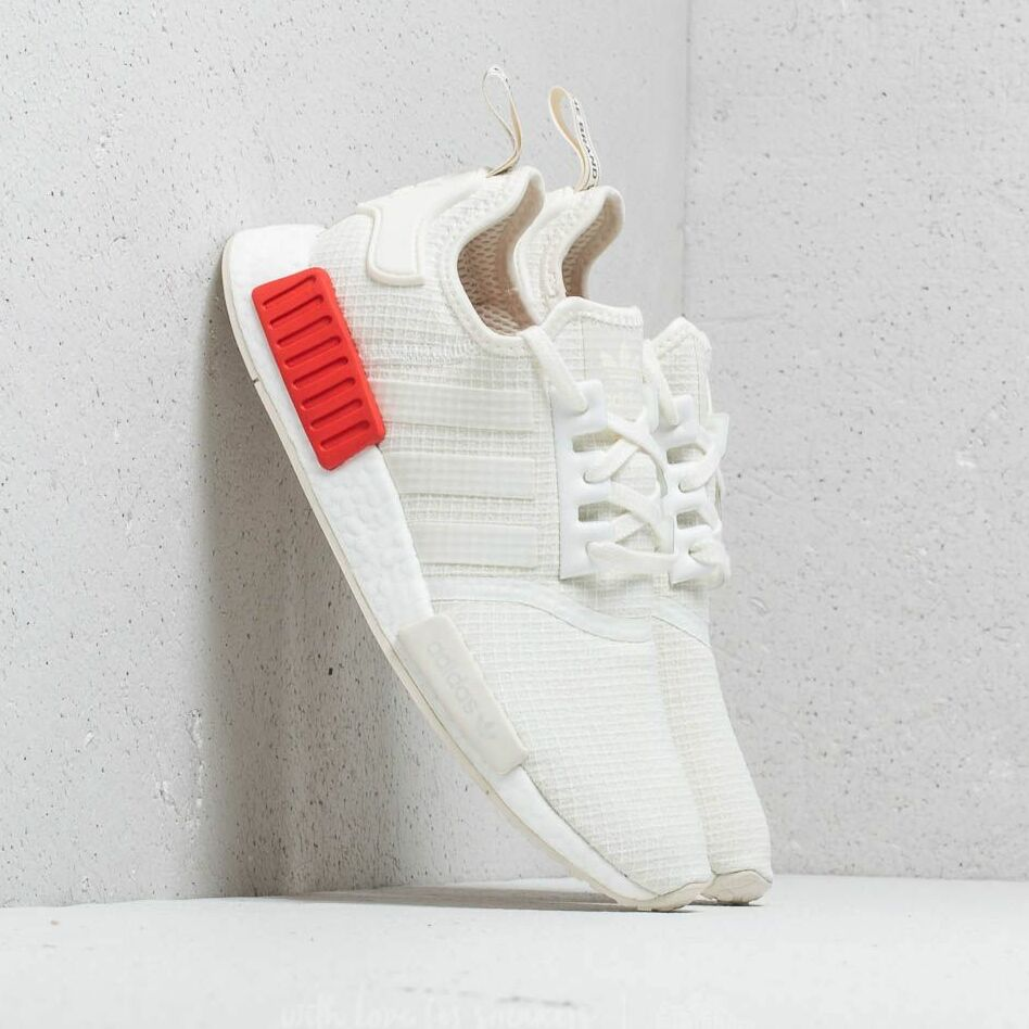 adidas NMD_R1 Off White/ Off White/ Lush Red EUR 42