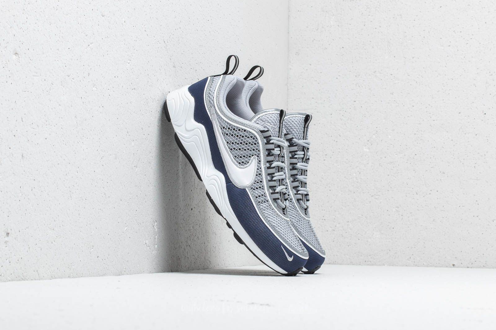 6ef8c4500d64 Nike Air Zoom Spiridon  16 Wolf Grey  White-Midnight Navy at a great