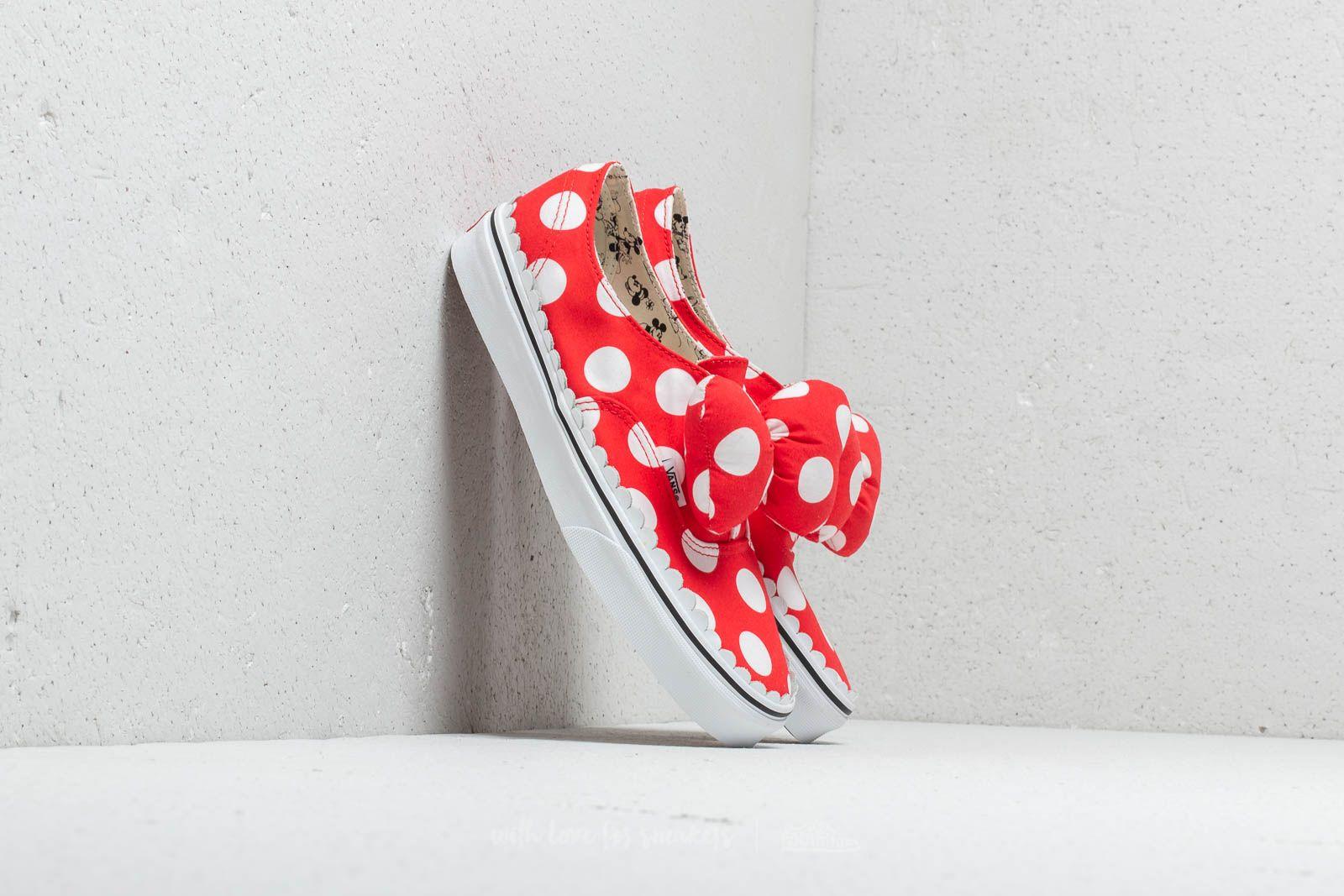 559e843c78d Vans X Disney Mickey Mouse Club Authentic Gore Minnie´s Bow  Tru ...
