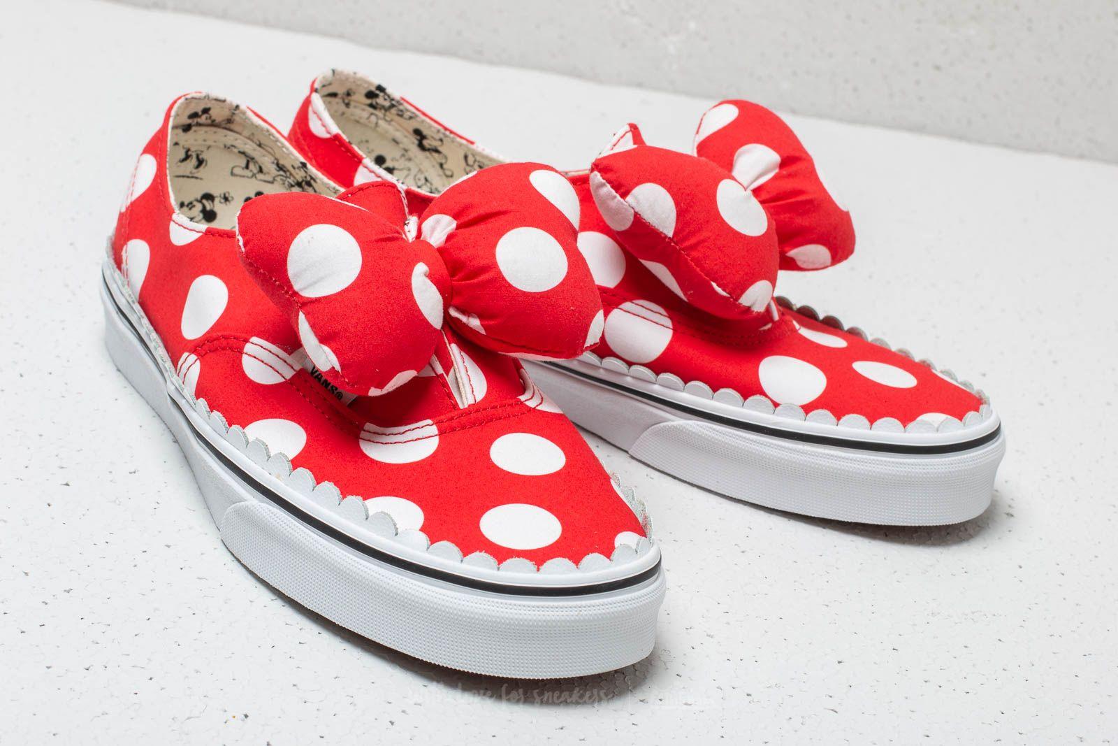 scarpe vans minnie