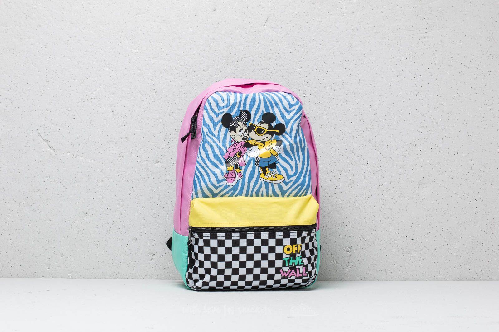 Vans x Disney Hyper Minnie Backpack Pink