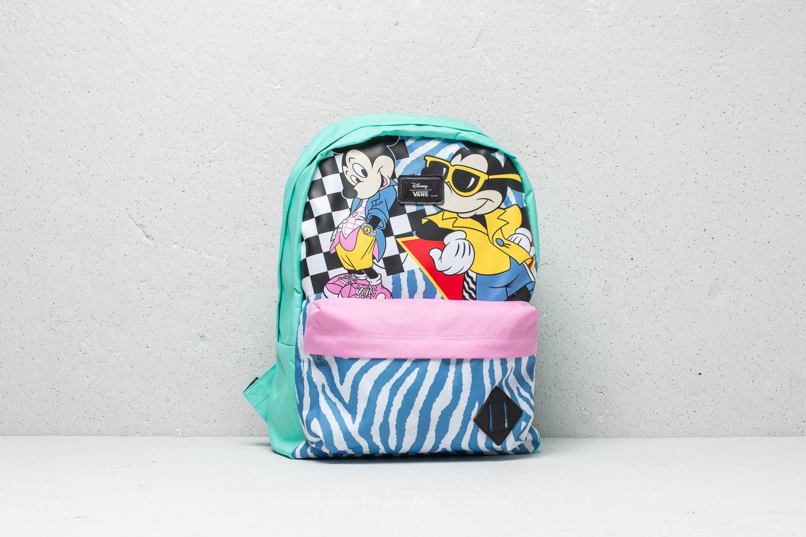 Vans x Disney Mickey Mouse Old School II Backpack Pink | Footshop
