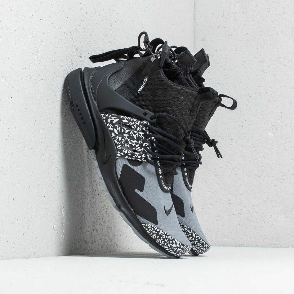 Nike x Acronym Air Presto Mid Cool Grey/ Black EUR 38.5