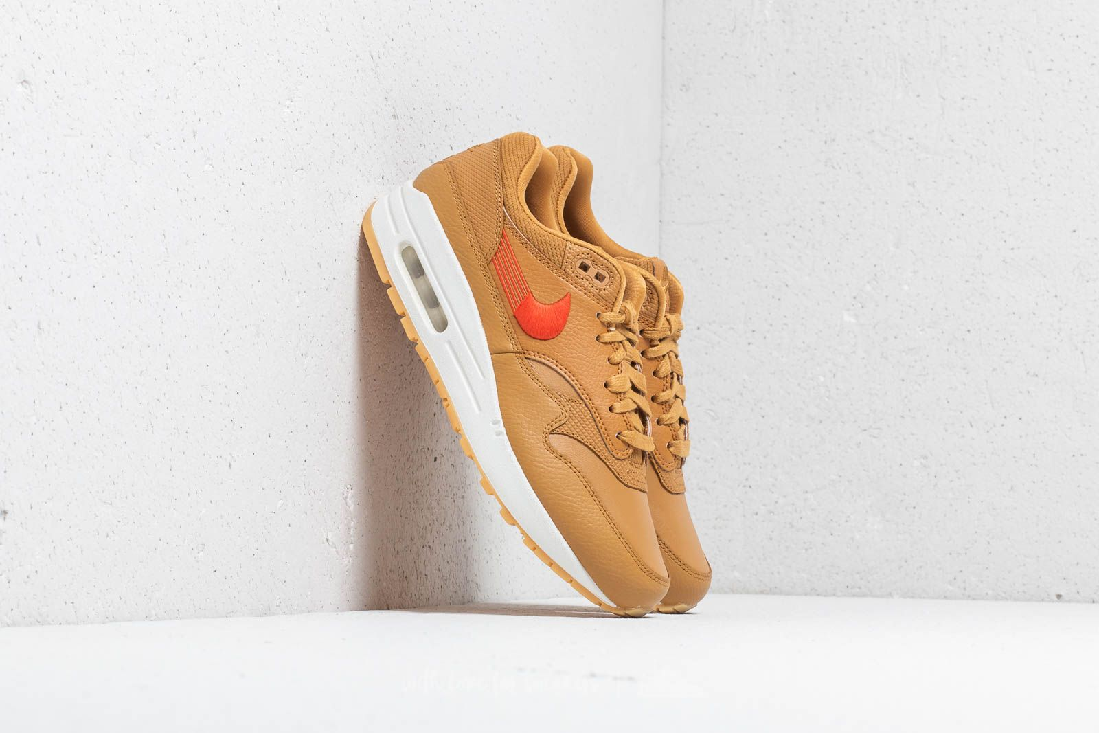 d504a34805 Nike Wmns Air Max 1 Premium Wheat/ Team Orange-Gum Yellow at a great