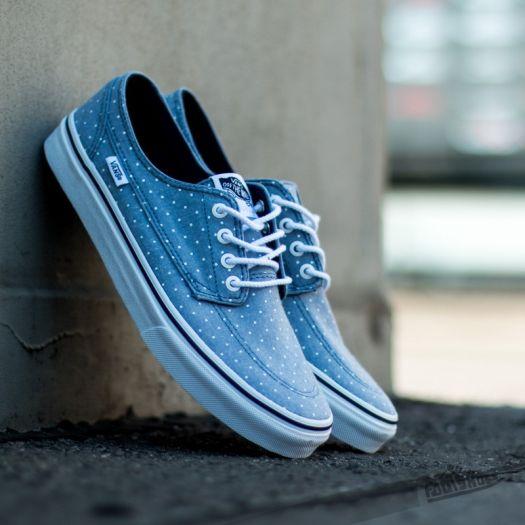 Vans Brigata Slim (Chambray Dots) Blue | Footshop