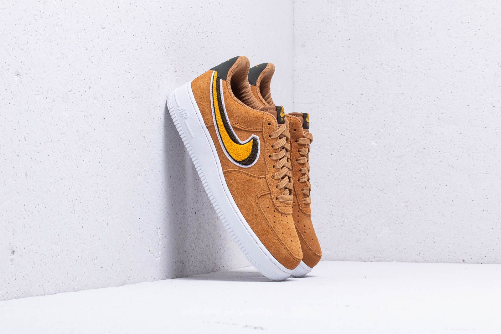 58ee7e21f79b Nike Air Force 1  07 LV8 Muted Bronze  Yellow Ochre at a great price
