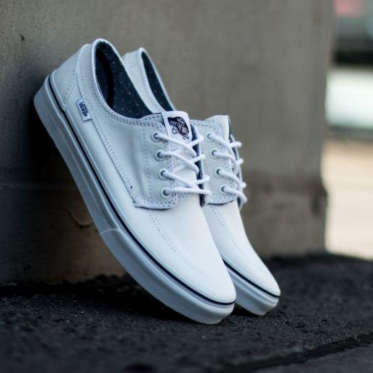 Vans Brigata Slim (Chambray Dots) WhiteTwill | Footshop
