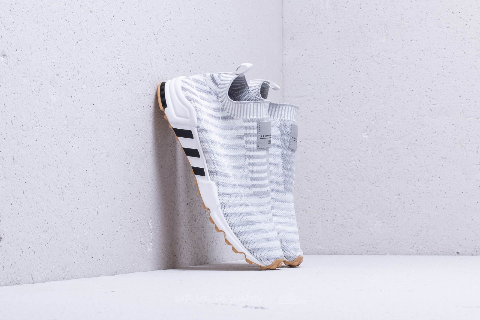 adidas EQT Support SK Primeknit W Ftw White  Crystal White  Gum at a great f33e0fe9c38