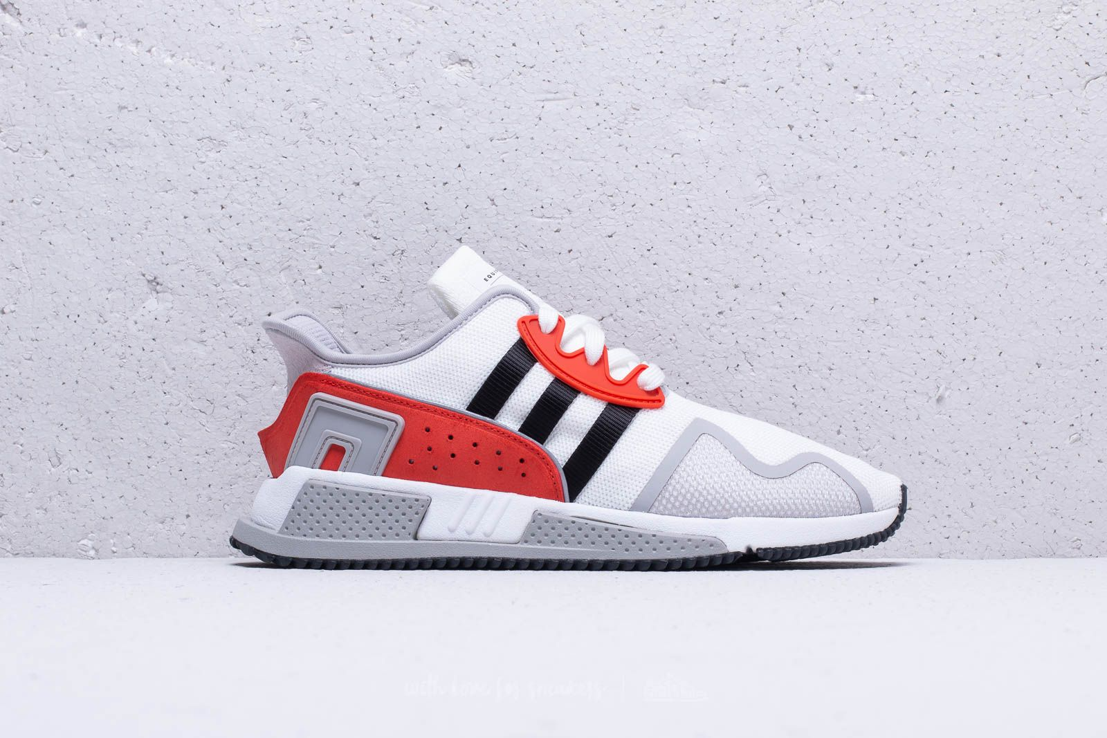 detailed look df616 5d13b adidas EQT Cushion ADV Ftw White  Core Black  Hi-Res Red la un