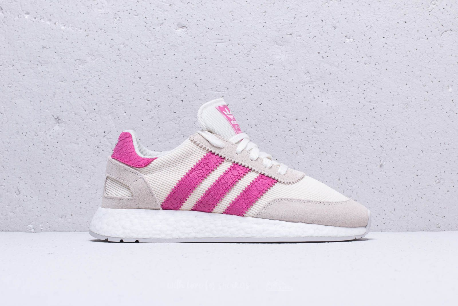 online store 103cd ac440 adidas I-5923 W Beige  Shock Pink  Grey One at a great price
