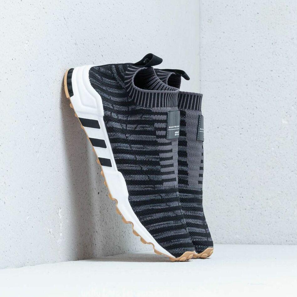 adidas EQT Support Sock Primeknit W Core Black/ Carbon/ Gum 3 EUR 39 1/3