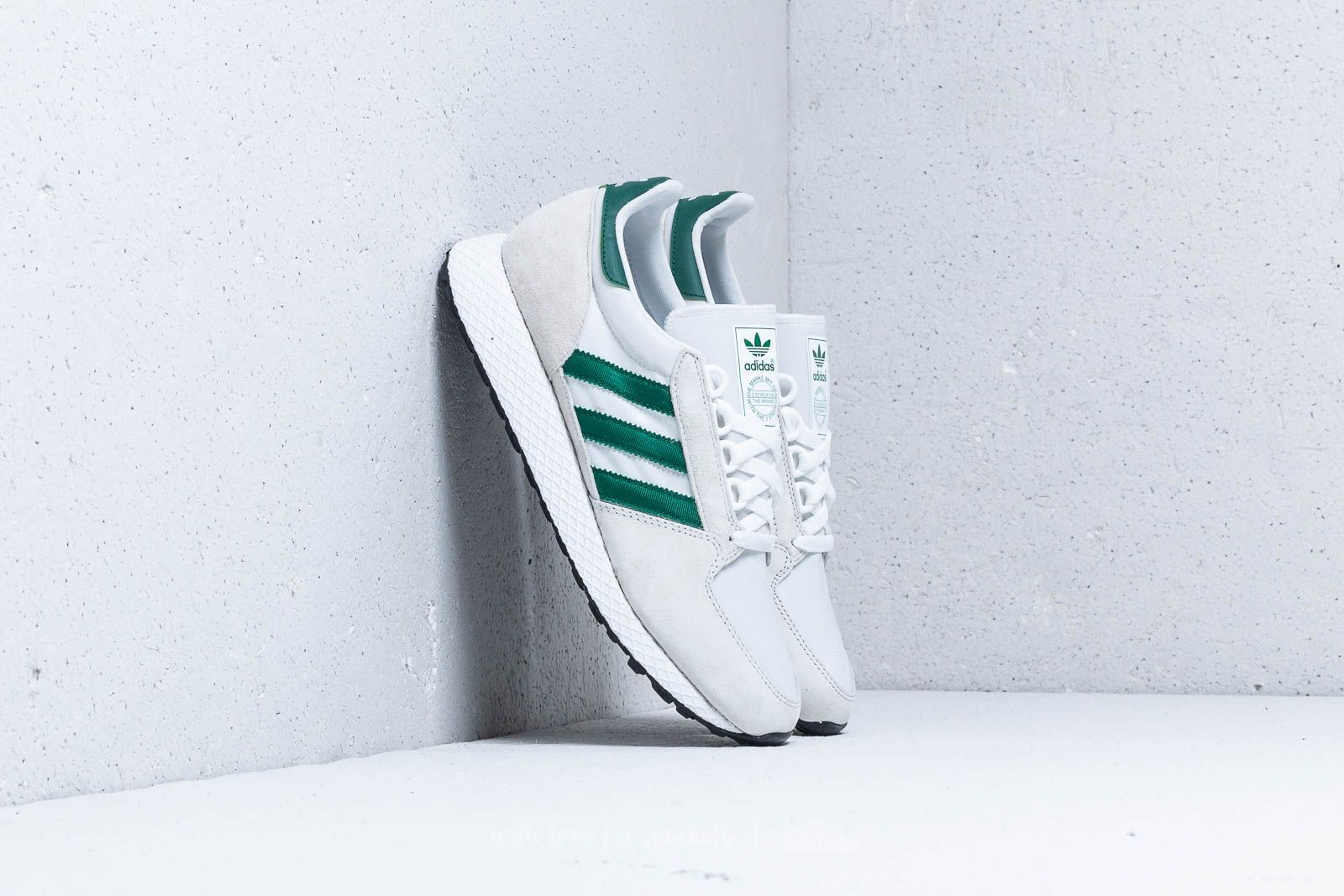 b19eb9a5ab2 adidas Forest Grove Crystal White/ Collegiate Green/ Core Black ...