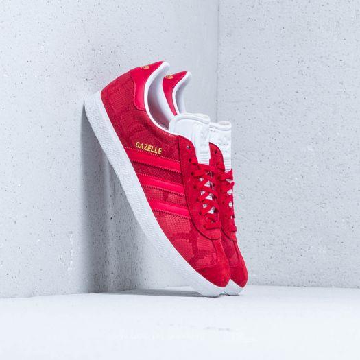 red adidas gazelle women