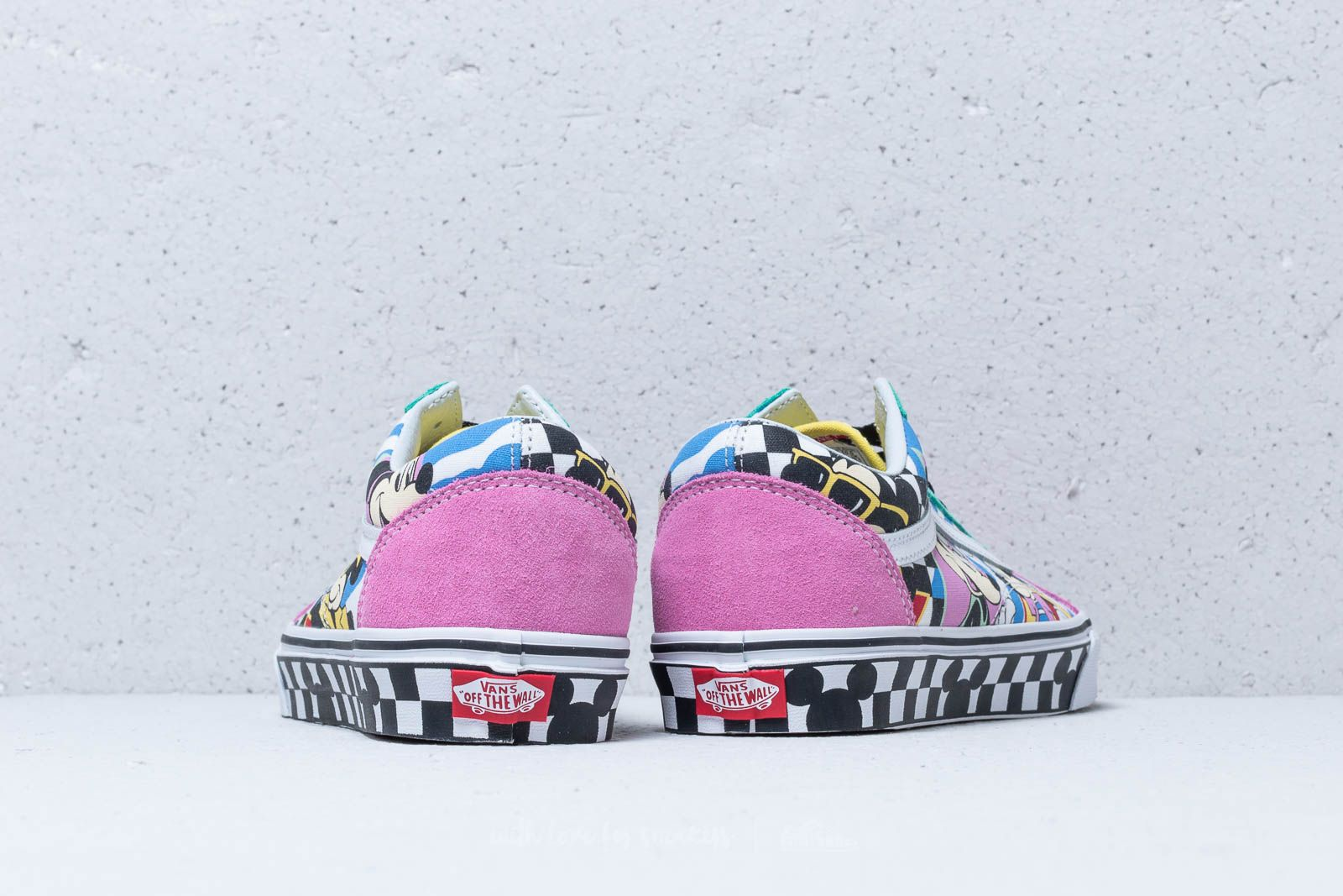 Vans X Disney Mickey Mouse Club Old Skool 80´s Mickey True | Footshop