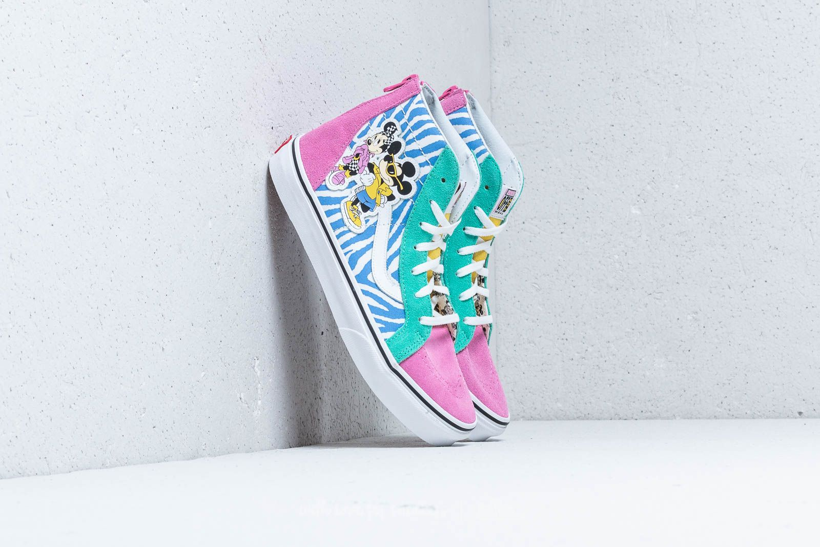 Vans x Disney Sk8-Hi Zip 80`s Mickey/ True White