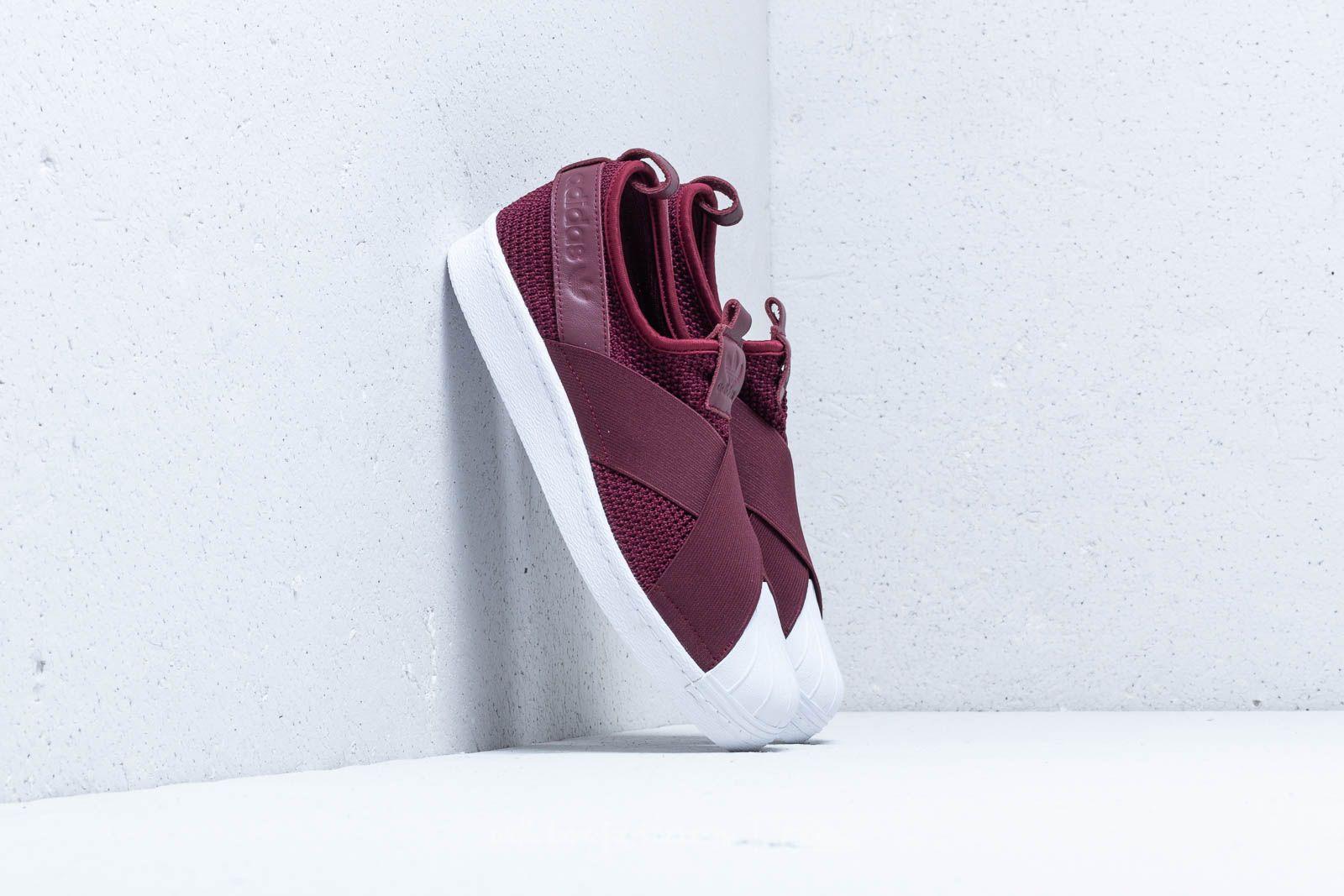 Adidas Superstar Slip On W Red Night Red Night Ftw White Footshop