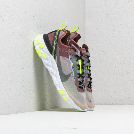 multiple colors shopping clearance prices Nike React Element 87 Desert Sand/ Cool Grey | Footshop
