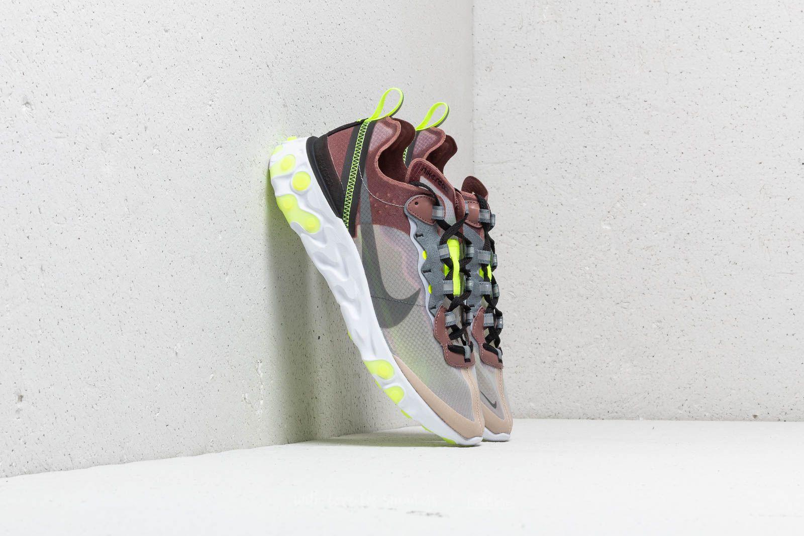b7e0c8e46ee6d Nike React Element 87 Desert Sand  Cool Grey