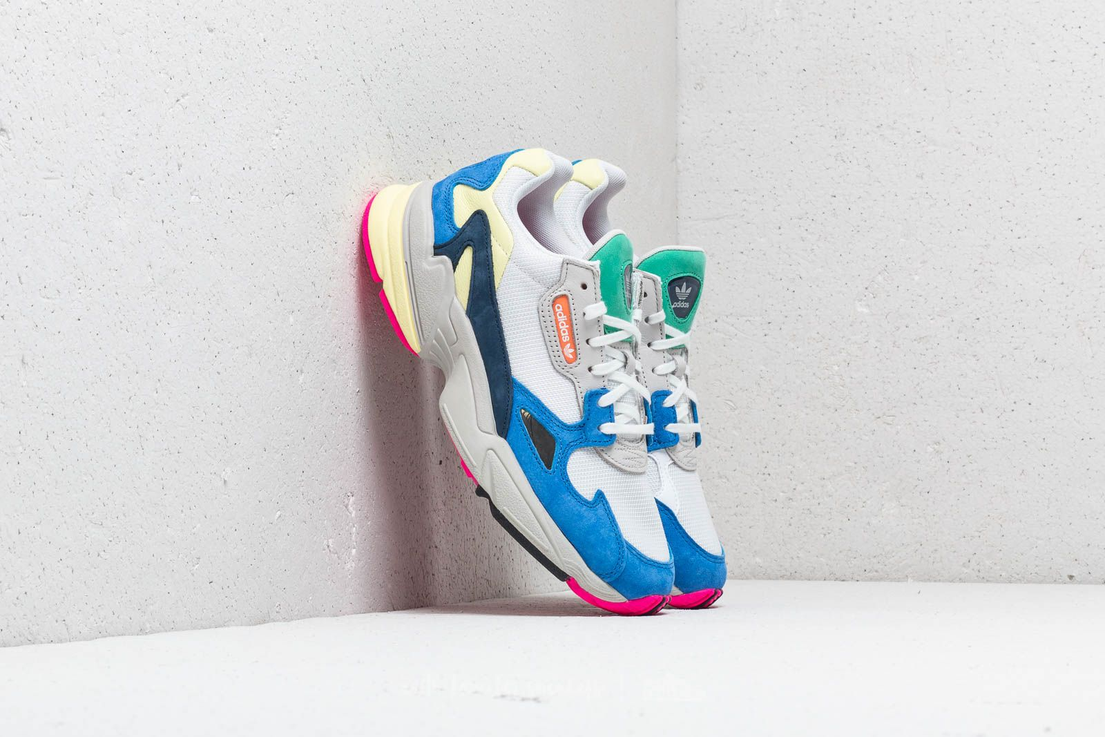 check out 3cbf2 50371 adidas Falcon W. Ftw White  Ftw White  Blue