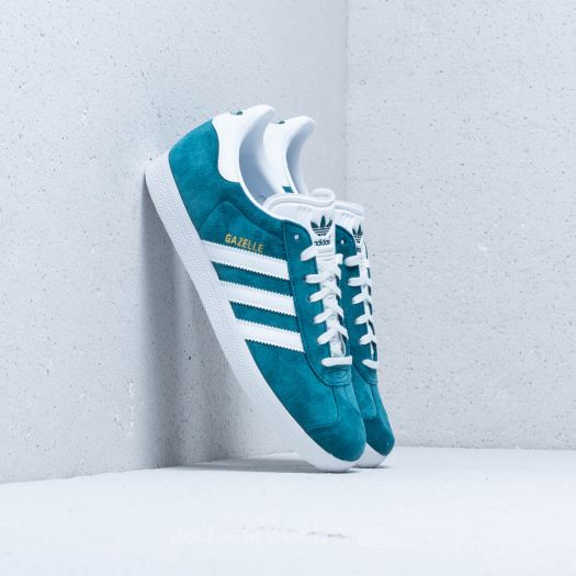 adidas Gazelle Petrol Night Ftw White Ftw White | Footshop