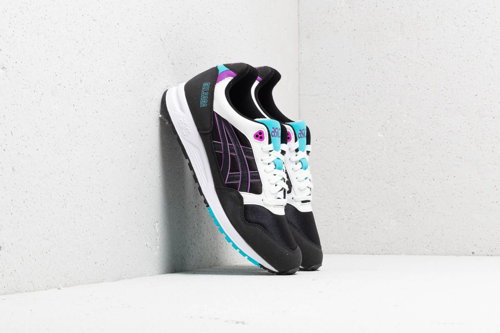 f7876a2f1fd5 Asics Gelsaga Black/ Orchid at a great price 66 € buy at Footshop