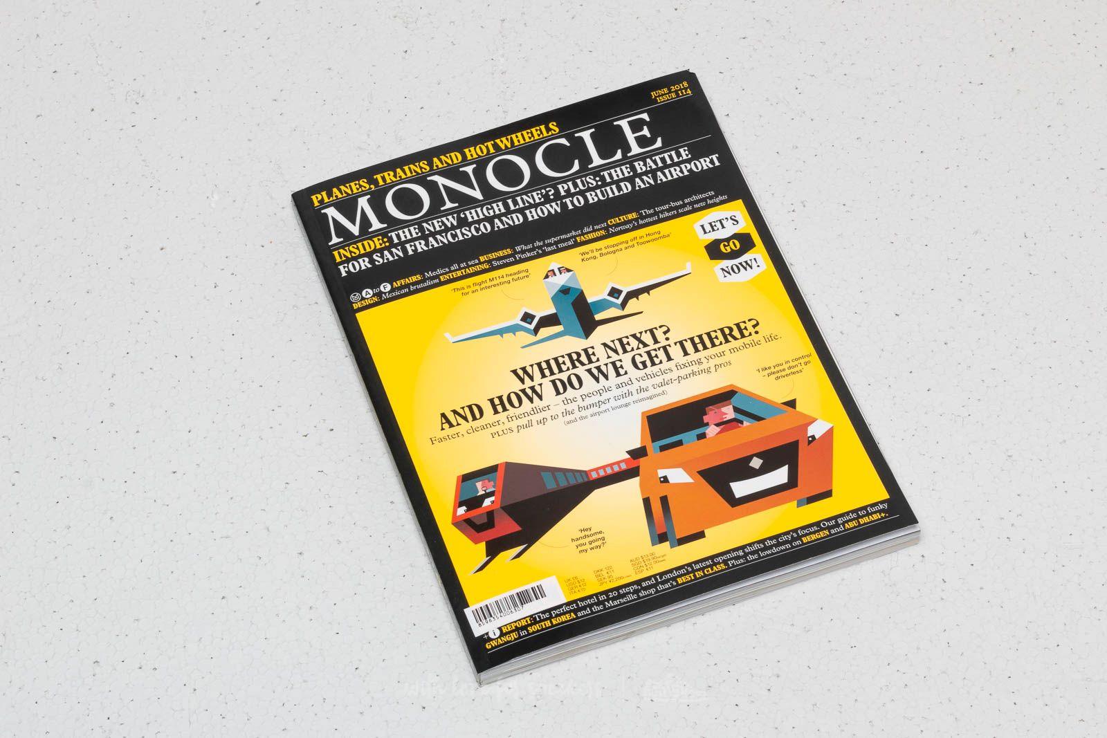 Monocle Magazine June 2018 za skvělou cenu 120 Kč koupíte na Footshop.cz