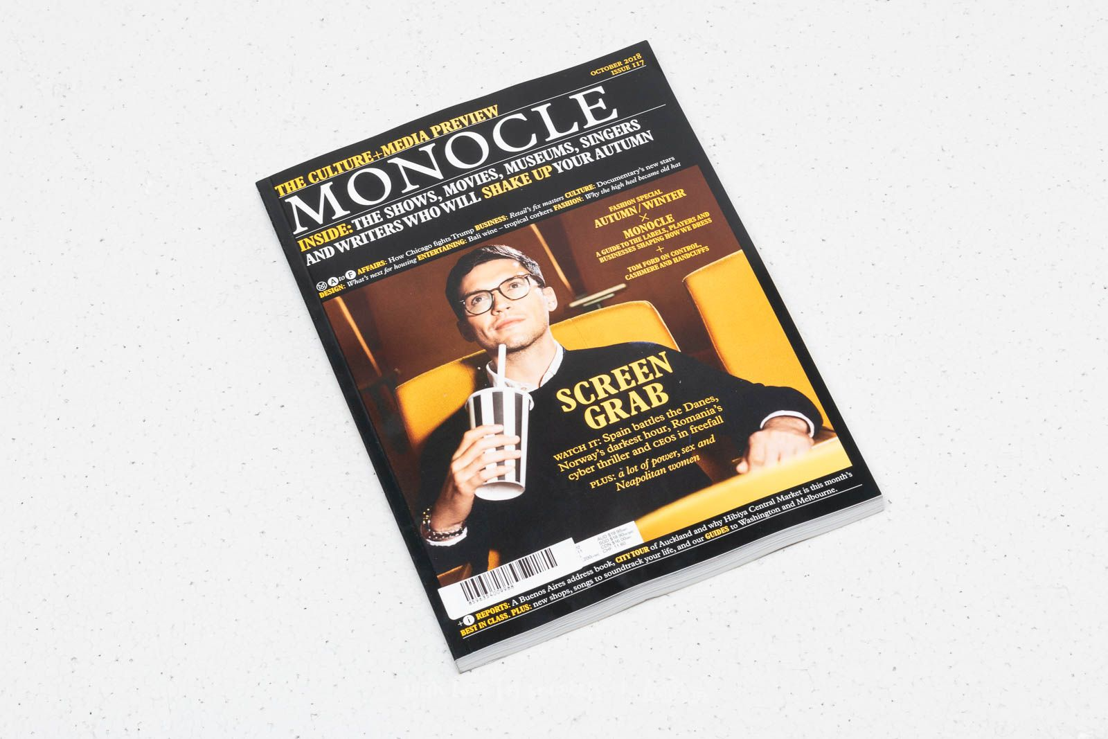 Monocle Magazine October 2018 za skvělou cenu 99 Kč koupíte na Footshop.cz