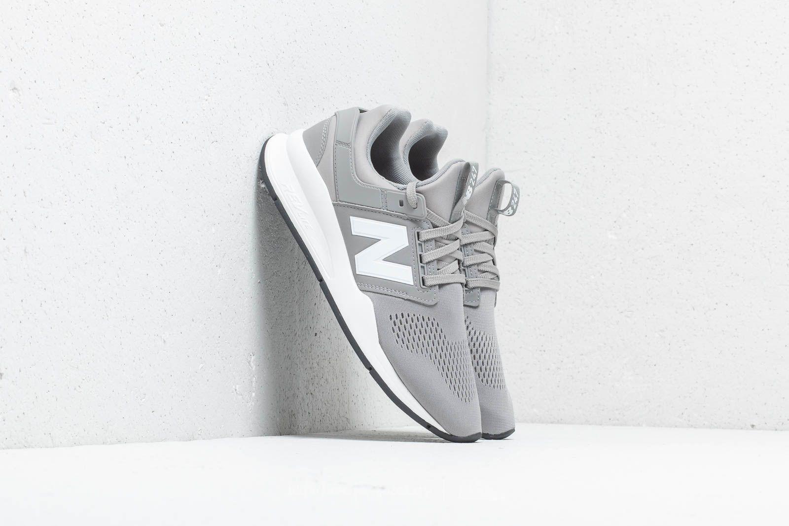 New Balance 247 Grey/ White   Footshop