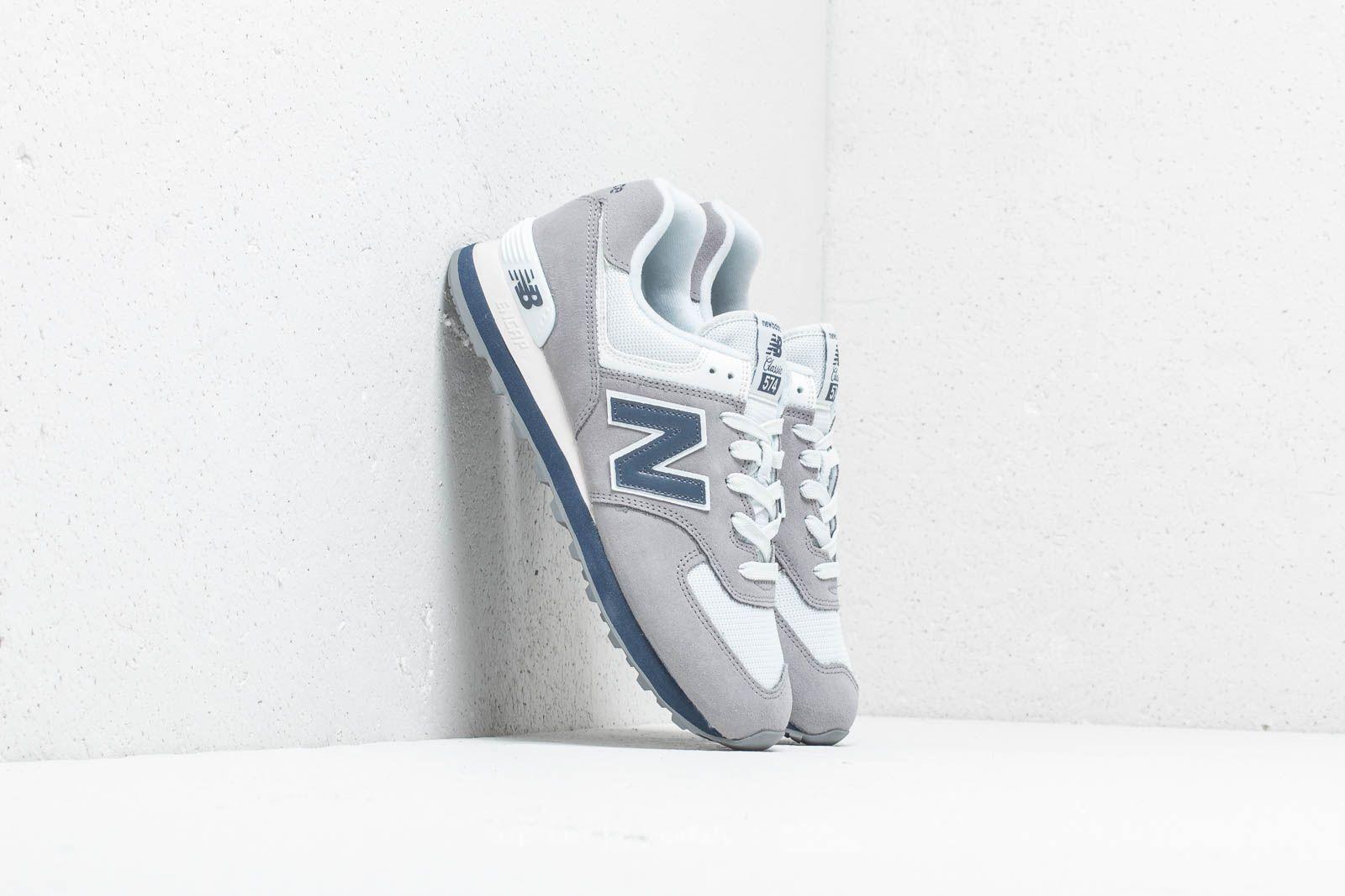 New Balance 574 Grey/ Navy