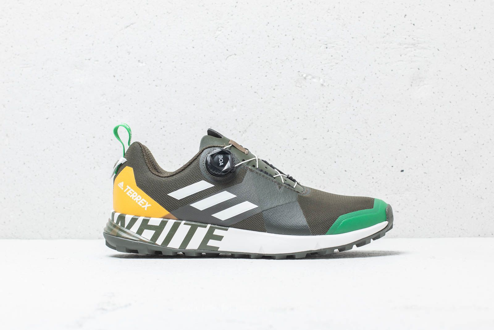d512a099105b adidas x White Mountaineering Terrex Two BOA Khaki  Cloud White at a great  price 103