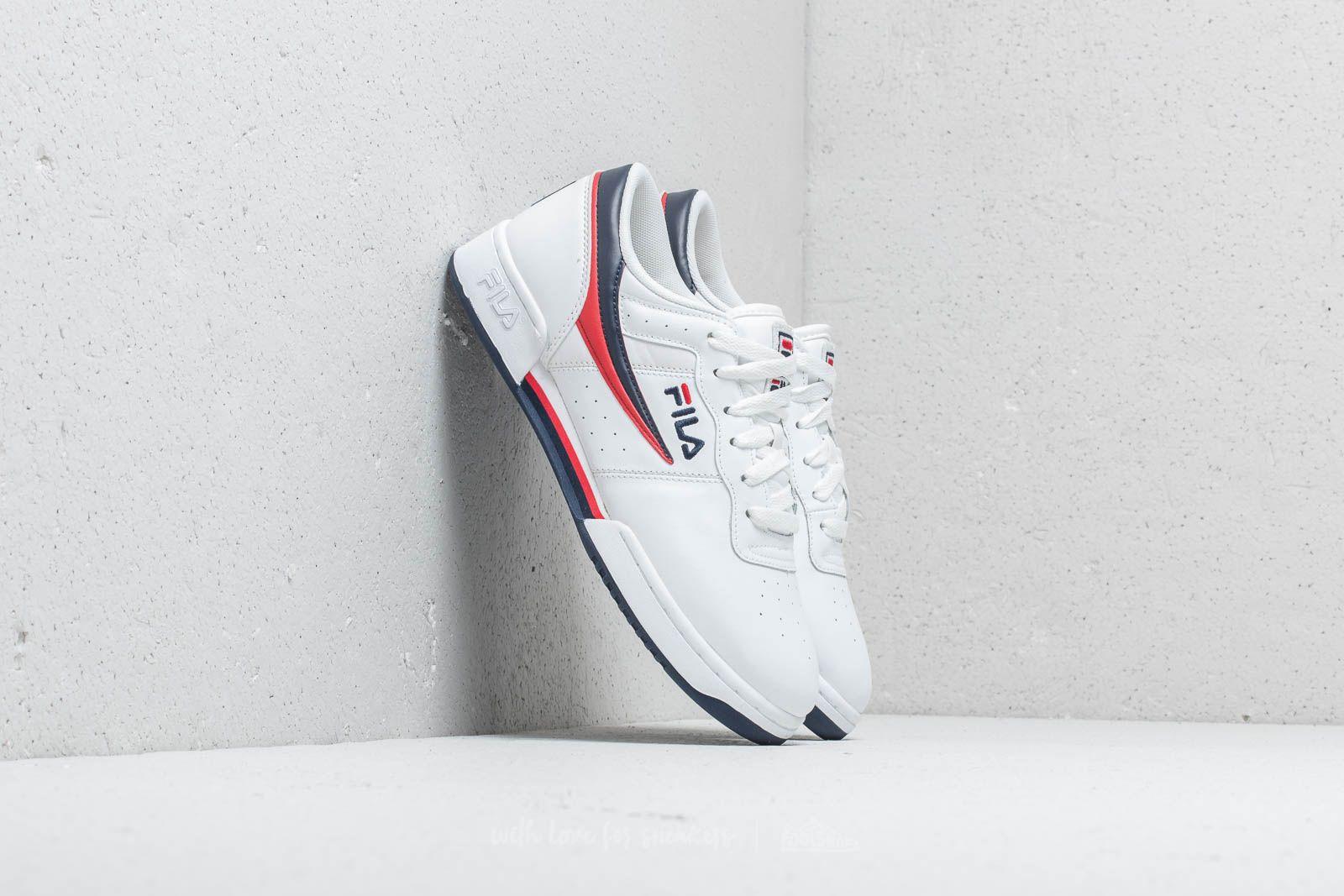 Pánské tenisky a boty Fila Original Fitness White / Fila Navy / Fila Red
