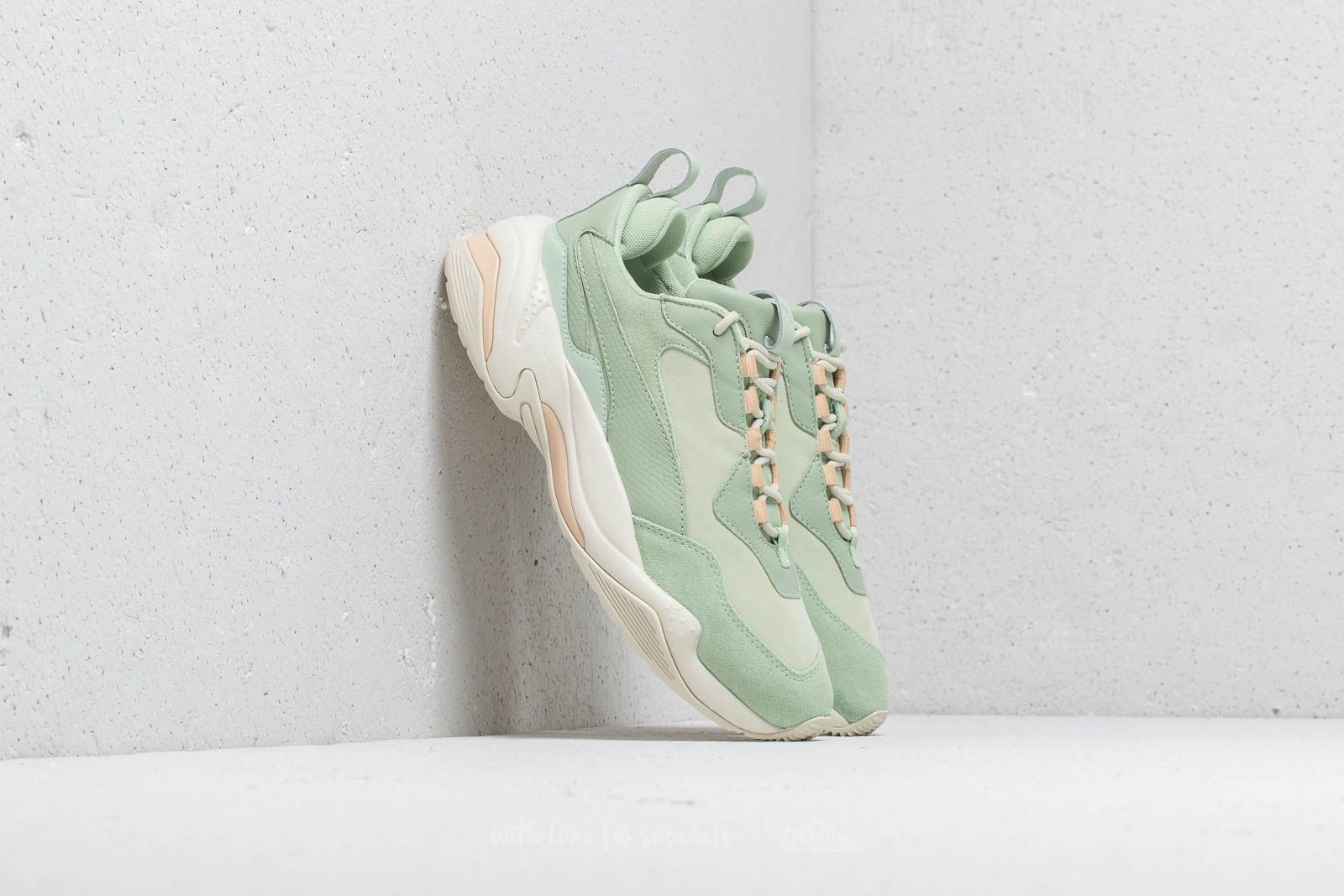 Puma Thunder Desert WMNS Smoke Green  Silver Green at a great price £111 buy 5875acc0f