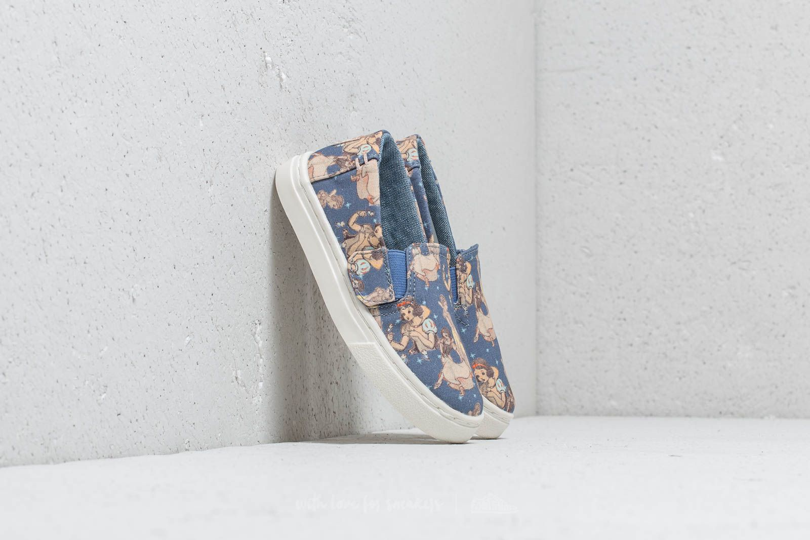 Kid´s shoes Toms x Disney Luca Tiny Blue Snow White Printed Canvas