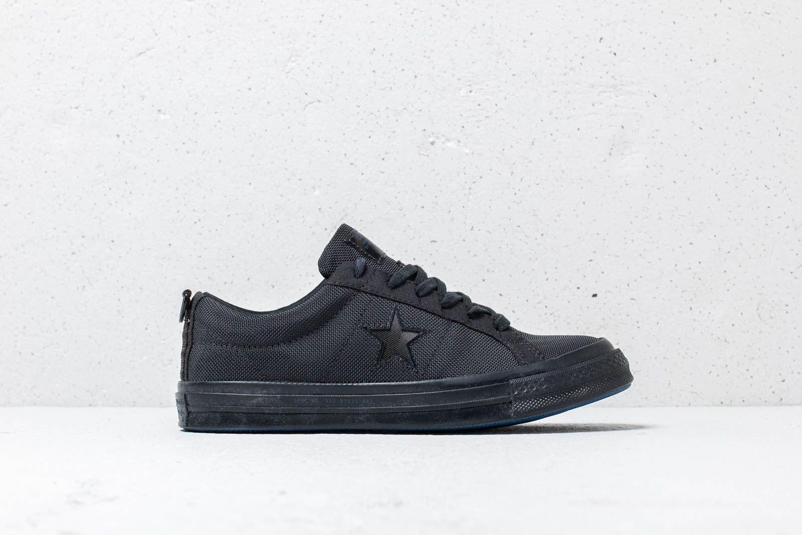 cf2d462b92f3 Converse x Carhartt WIP One Star OX Black  Black  Black at a great price
