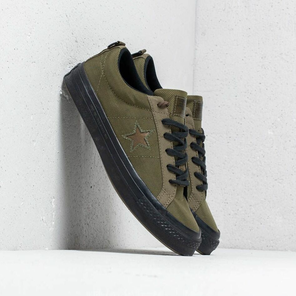Converse x Carhartt WIP One Star OX Herbal/ Medium Olive/ Black EUR 38.5
