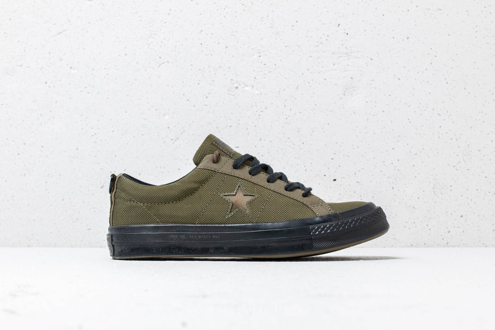 Converse x Carhartt WIP One Star OX Herbal Medium Olive Black | Footshop