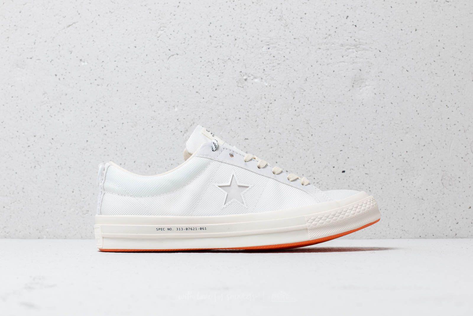 4a84a60042cf Converse x Carhartt WIP One Star OX White  White  Vibrant Orange at a great