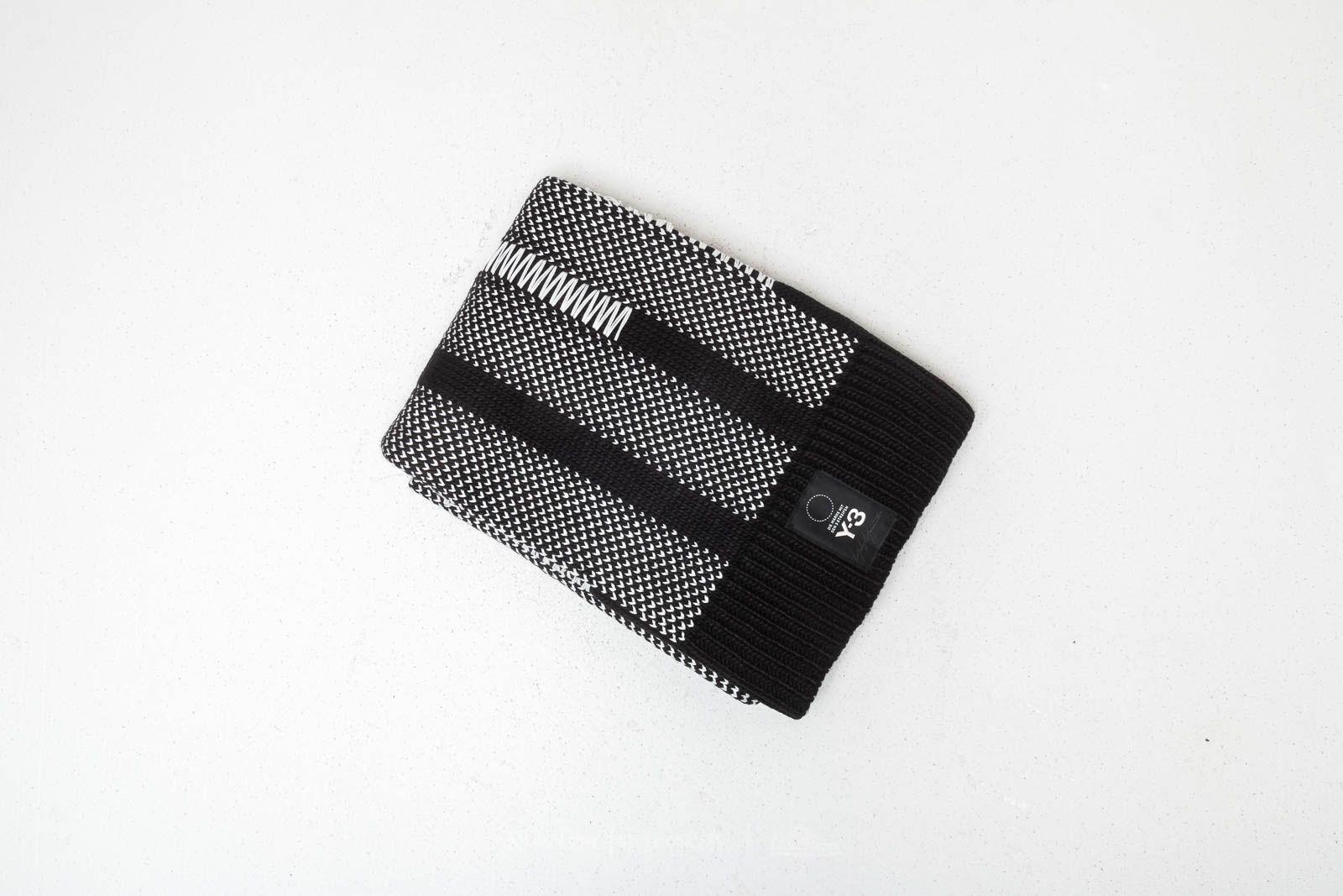 Y-3 Knit Scarf Black