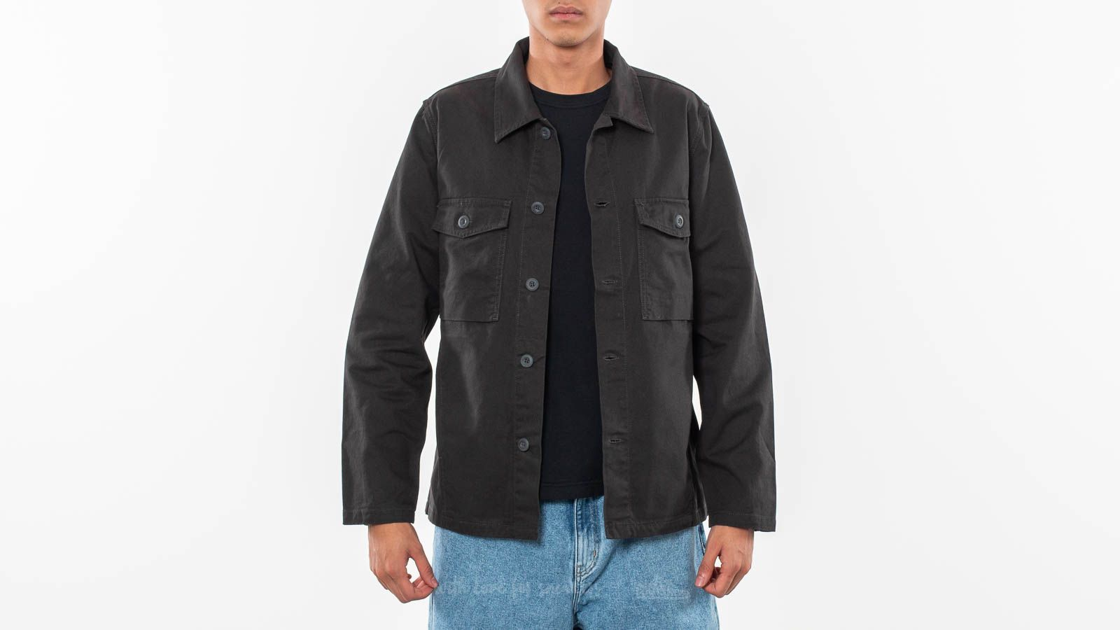 Junk de Luxe Liudvikas Shirt Dusty Black za skvelú cenu 38 € kúpite na Footshop.sk