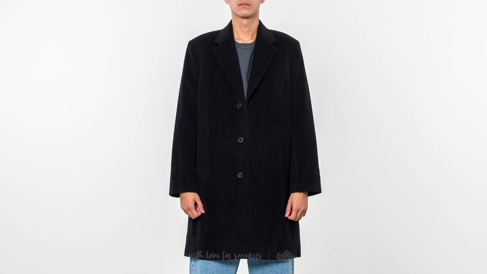 Our Legacy Unconstructed Classic Coat Soft Black Wool za skvělou cenu 9 560 Kč koupíte na Footshop.cz