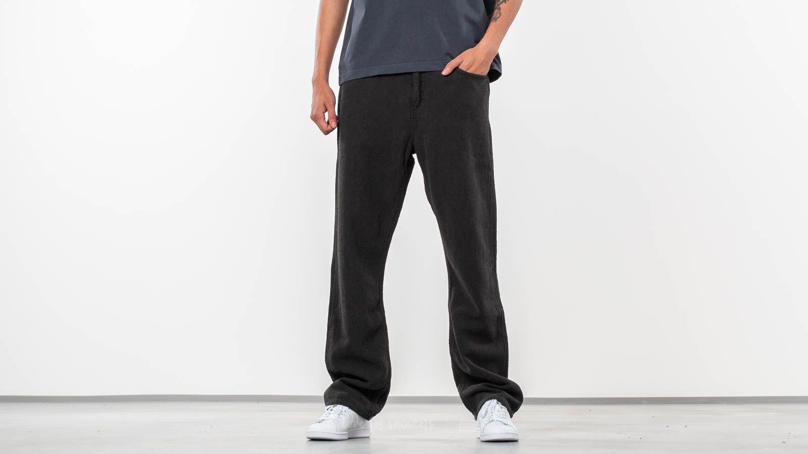 Džíny a kalhoty Our Legacy Formal Cut Pants Mudd Black/ Heavy Noil