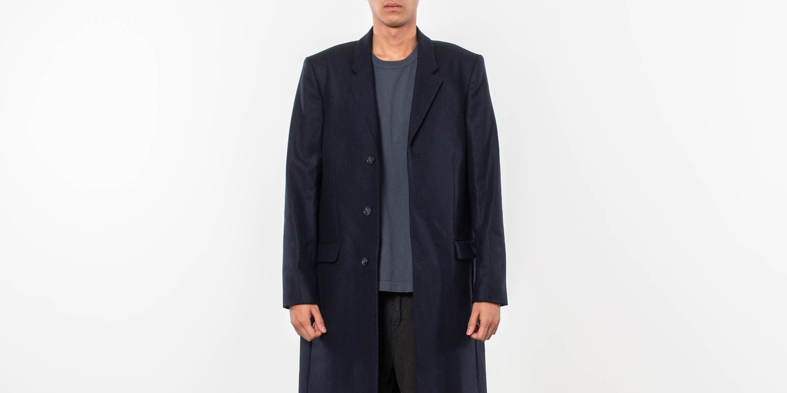 Junk de Luxe Rune Coat Dark Navy