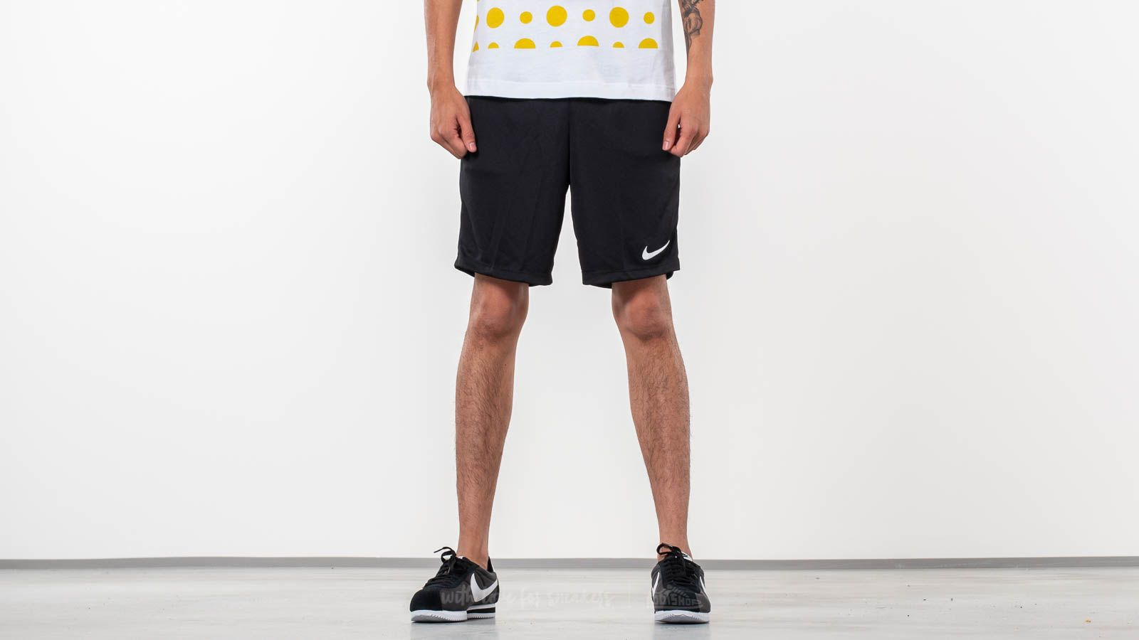 f68598f7c Nike Park II Knit Shorts Black | Footshop