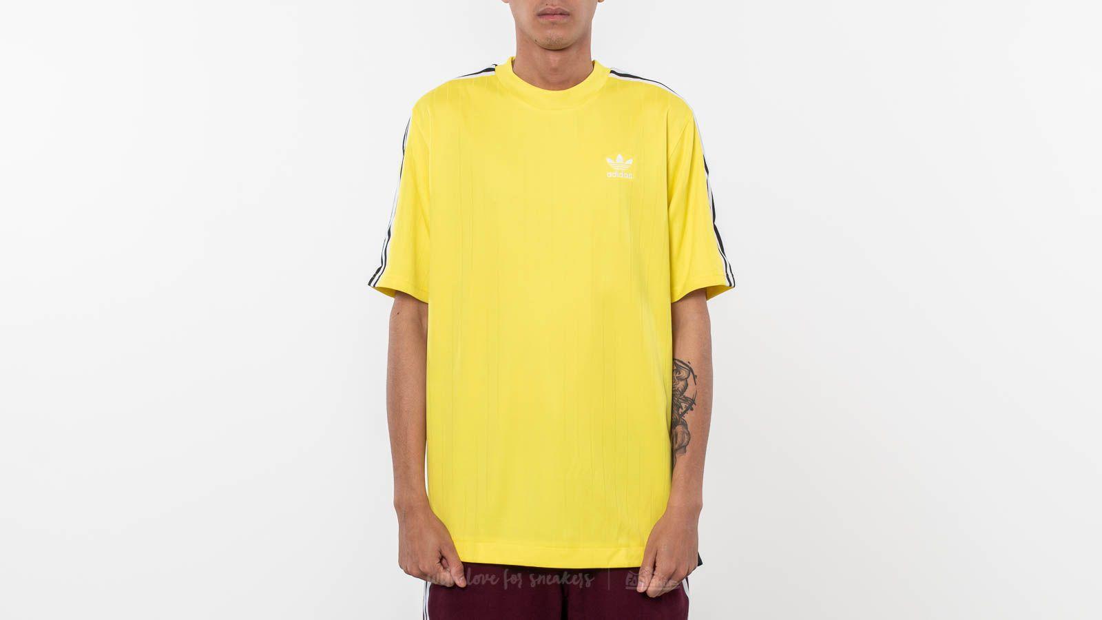 Trampolín lo hizo evitar  T-shirts adidas Originals B-Side Jersey 2 Tee Yellow | Footshop