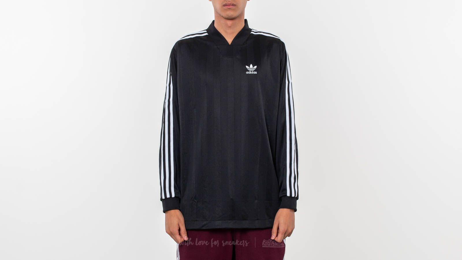 cruzar Floración Elasticidad  T-shirts adidas Originals B-Side Longsleeve Jersey Tee Black | Footshop