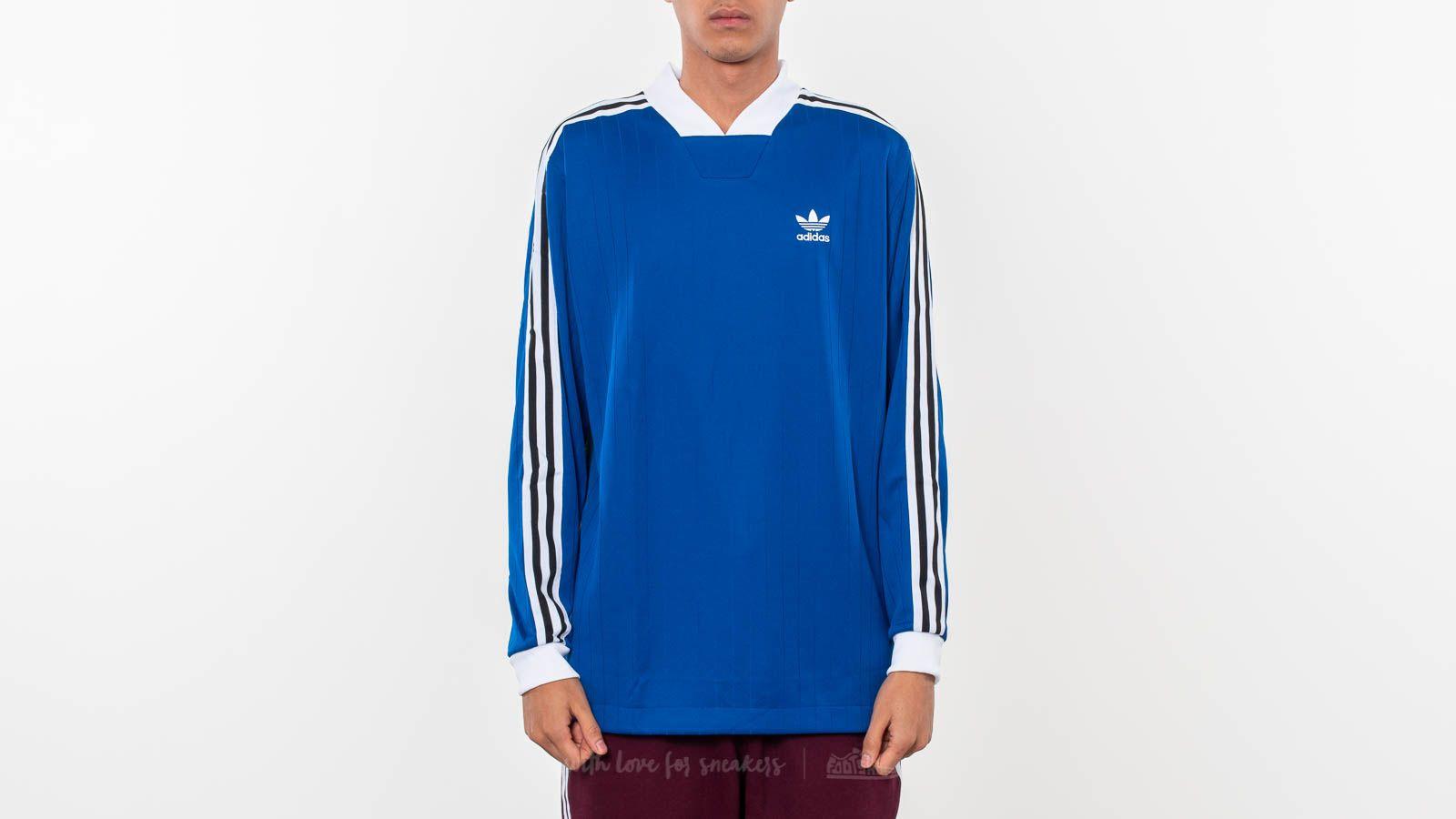 adidas Originals B-Side Longsleeve Tee Royal Blue za skvělou cenu 1 280 Kč koupíte na Footshop.cz