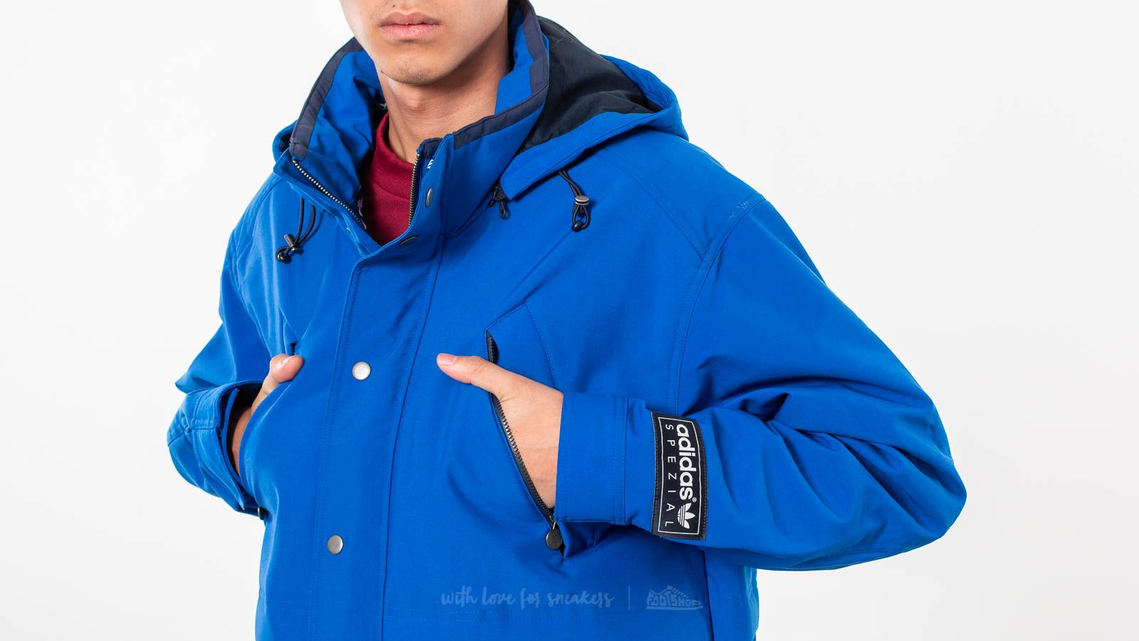Adidas SPZL Loton Jacket Power Blue