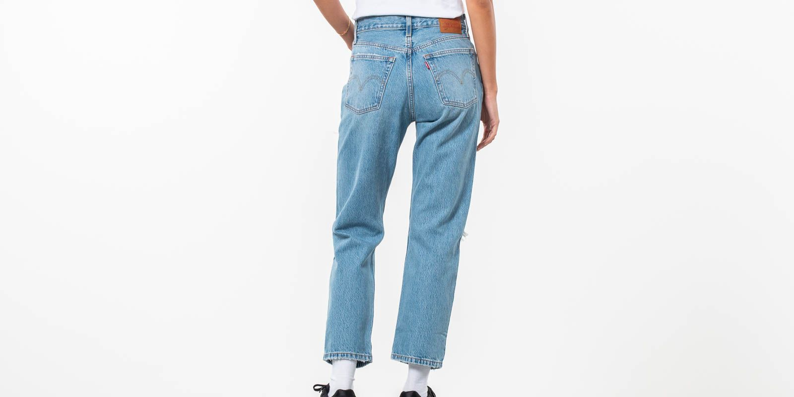 Levi's® 501™ Cropped Jeans Authentically Yours, Blue